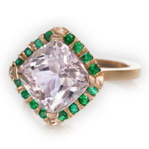 Abby Sparks Janrace kunzite ring | JCK On Your Market