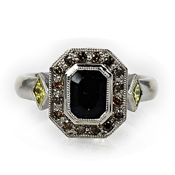 Abby Sparks Corrie sapphire ring | JCK On Your Market