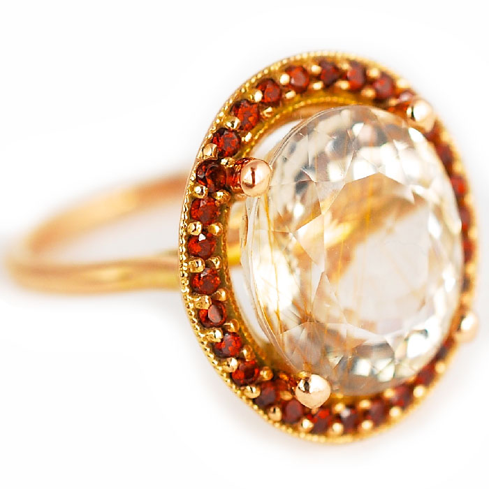 Abby Sparks Libby rutile quartz ring | JCK On Your Market