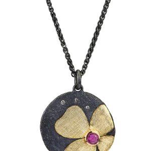 Alishan pink sapphire flower pendant #BRITTSPICK | JCK On Your Market