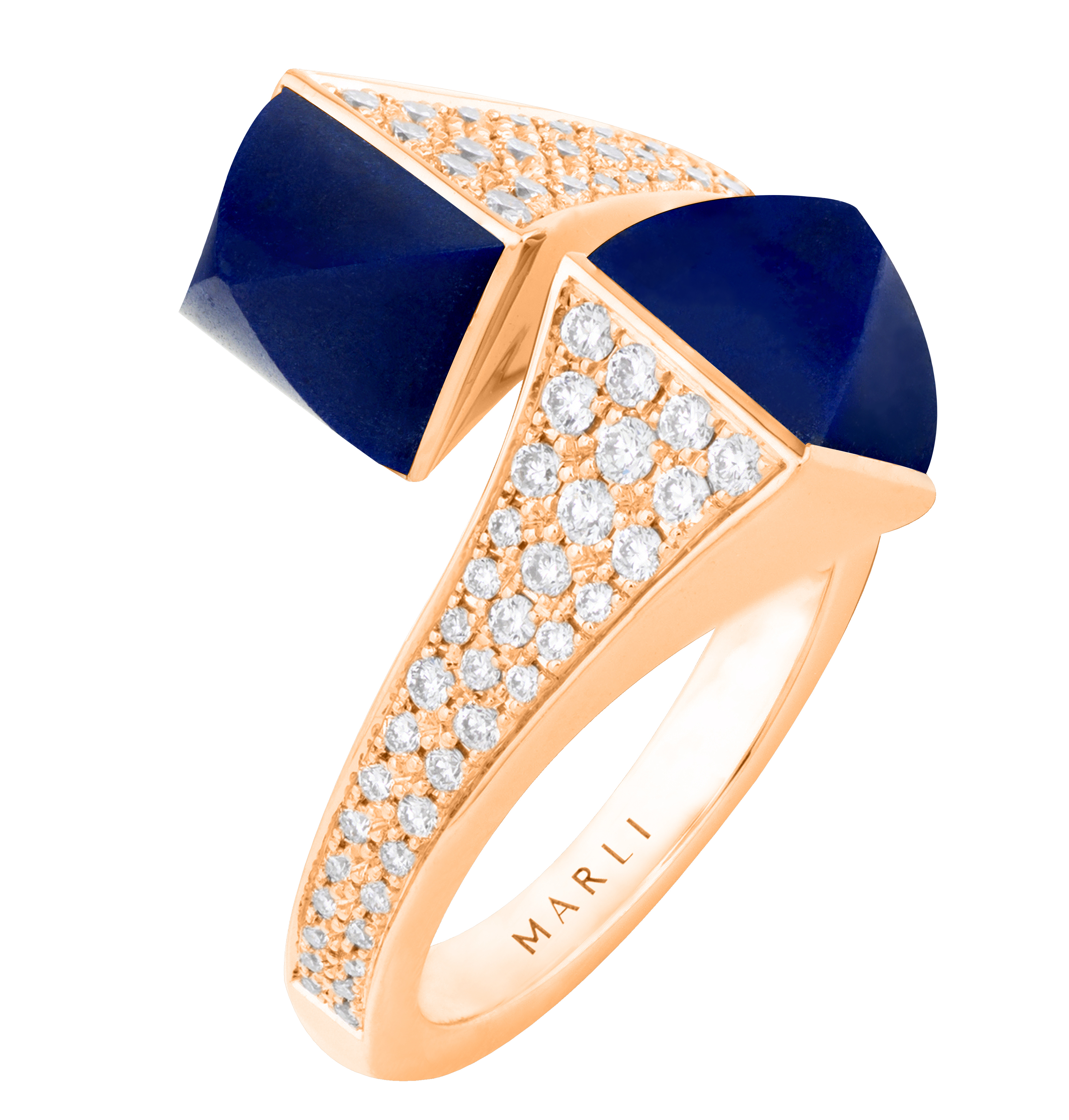 Marli Cleo lapis statement ring | JCK On Your Market