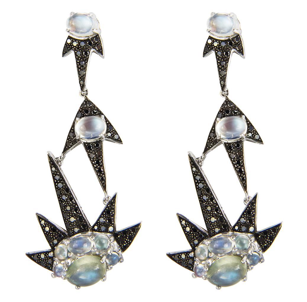 M Spalten Triple Starburst earrings | JCK On Your Market