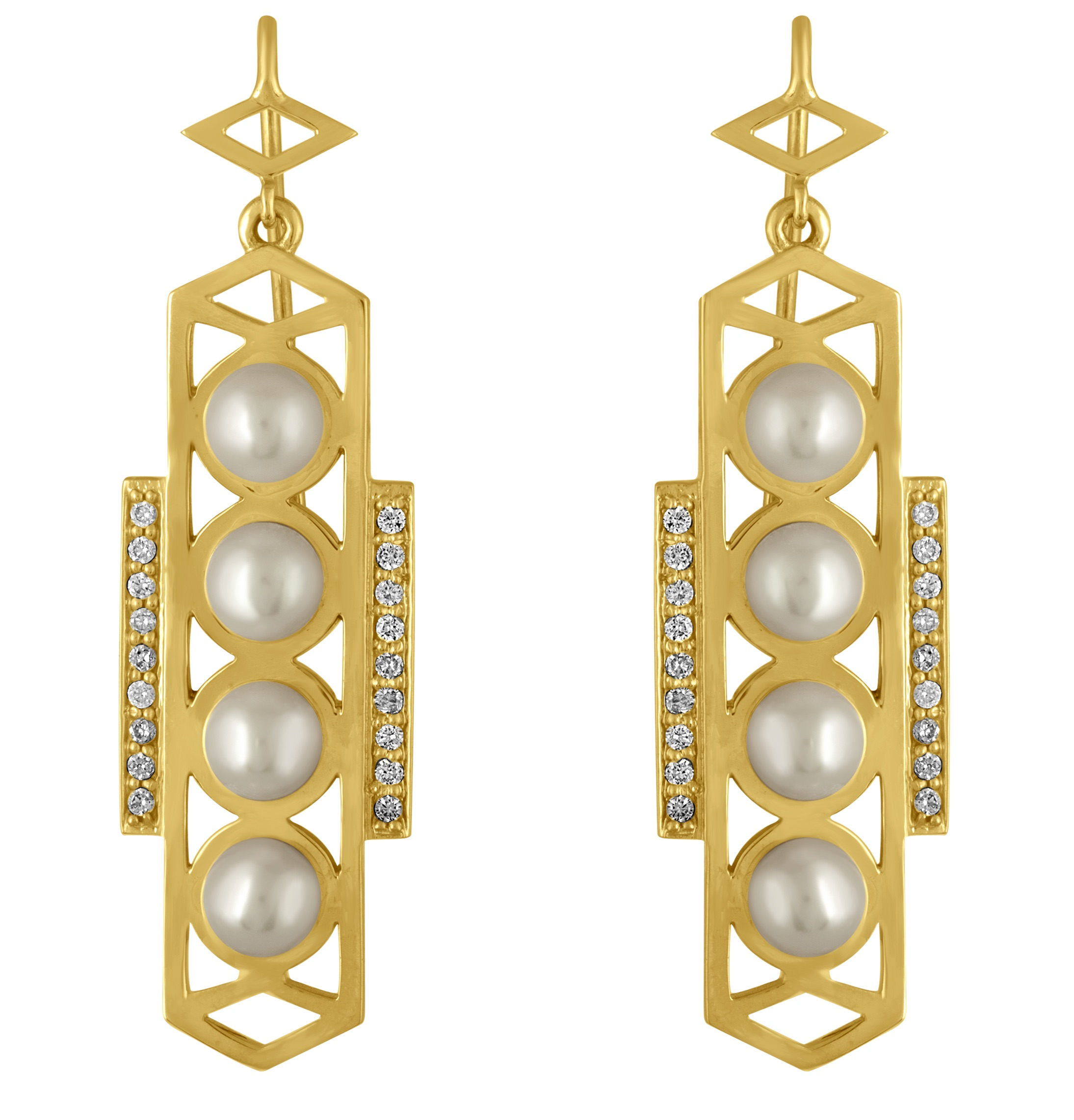 Amy Glaswand Luna Cosmo earrings | JCK On Your Market