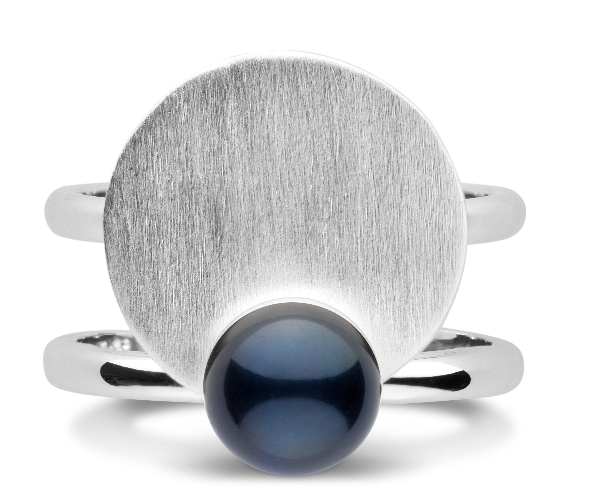 Pearl Collective X Veronika Borchers Luna ring | JCK On Your Market