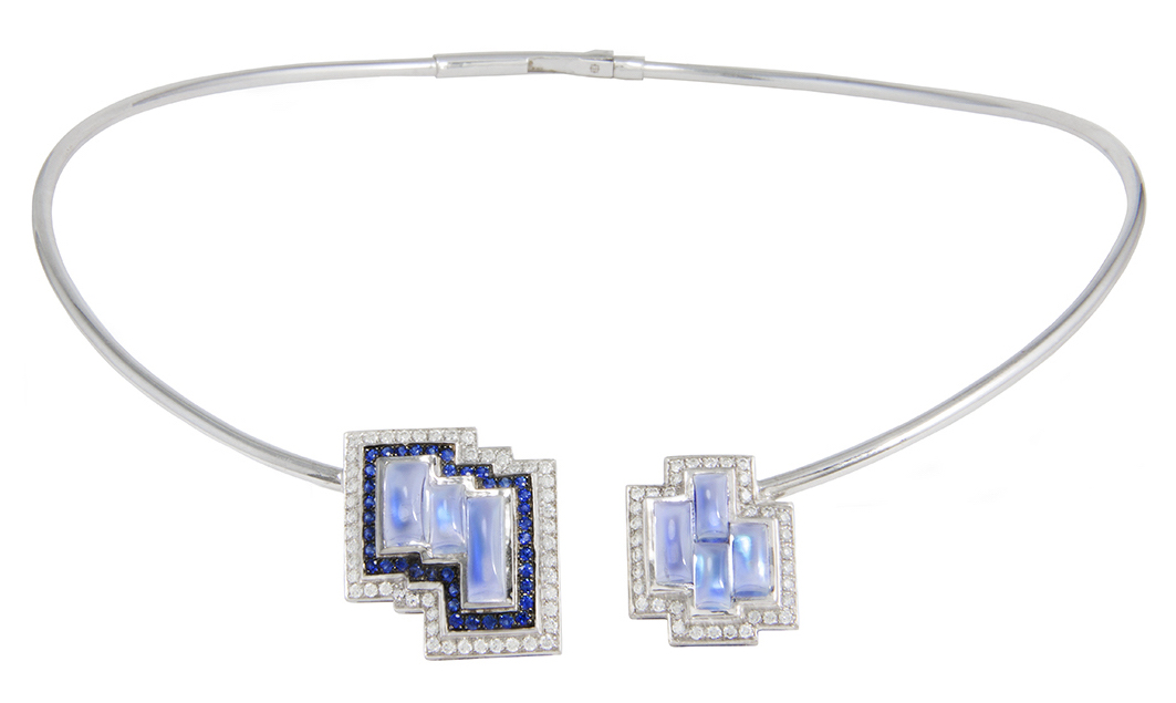 M Spalten Galactic Tile necklace | JCK On Your Market