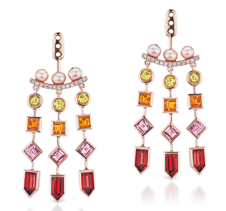 Jane Taylor Cirque chandelier earring jackets | JCK On Your Market