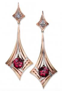 Rouge Moderne earrings