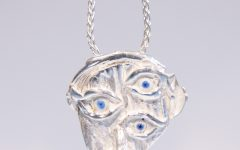 Coline Assade Eye See You pendant #BRITTSPICK | JCK On Your Market