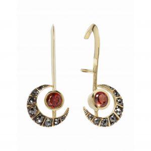 Kate Moss Ara Vartanian earrings