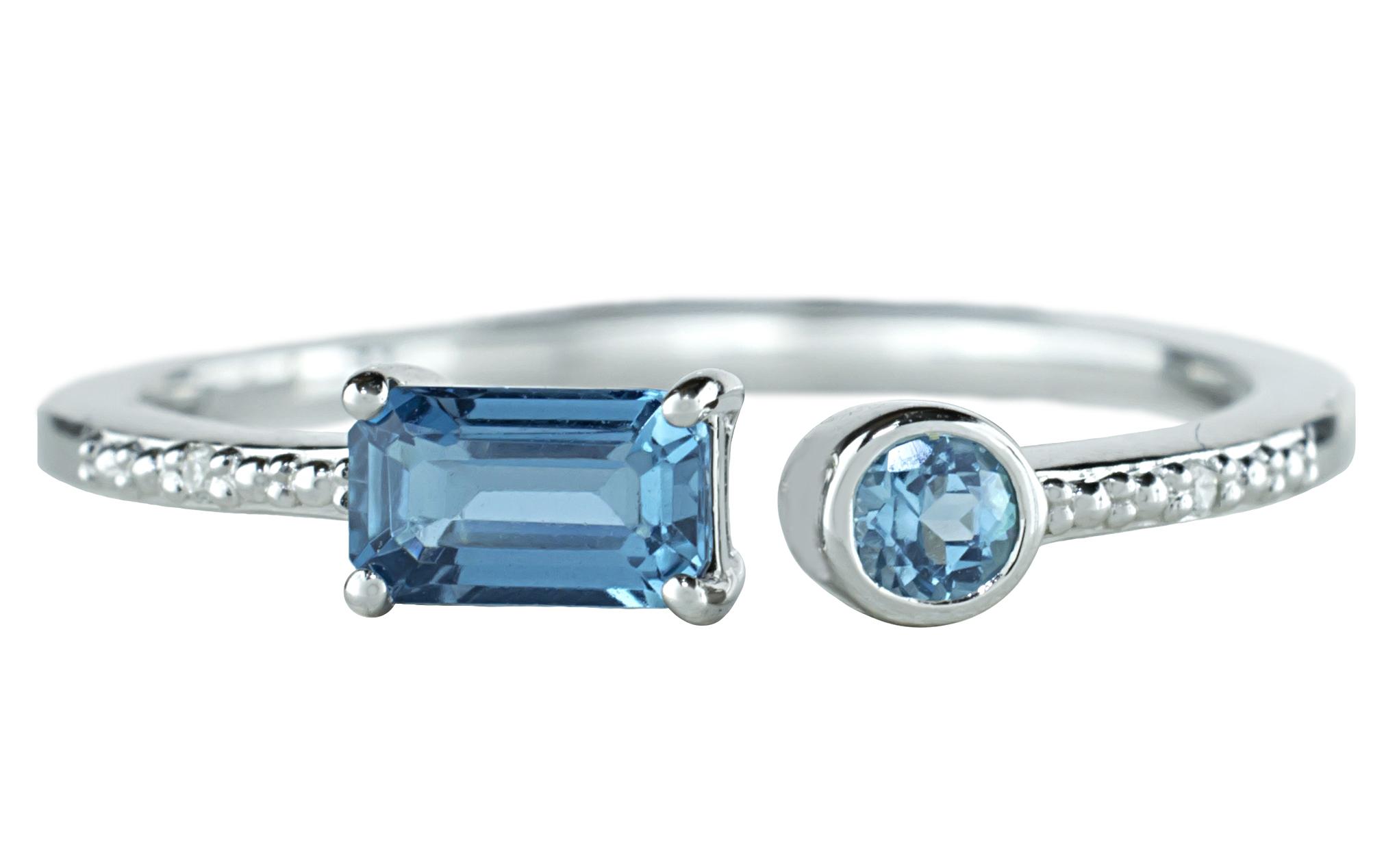 JewelMak London blue topaz ring   JCK On Your Market