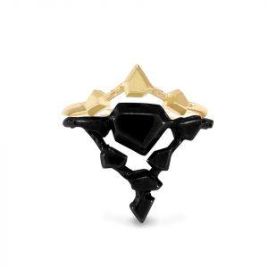 3-point gold landslide crown