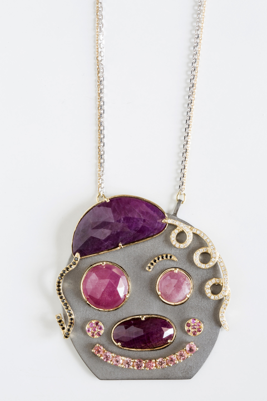 Hania Kuzbari Smile necklace   JCK On Your Market