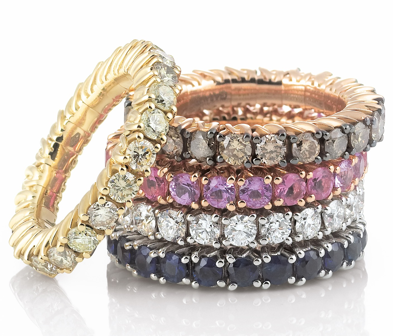 Garavelli Abracadabra collection rings   JCK On Your Market