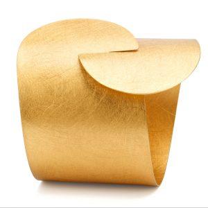 Marcin Zaremski gold-plated cuff bracelet | JCK On Your Market
