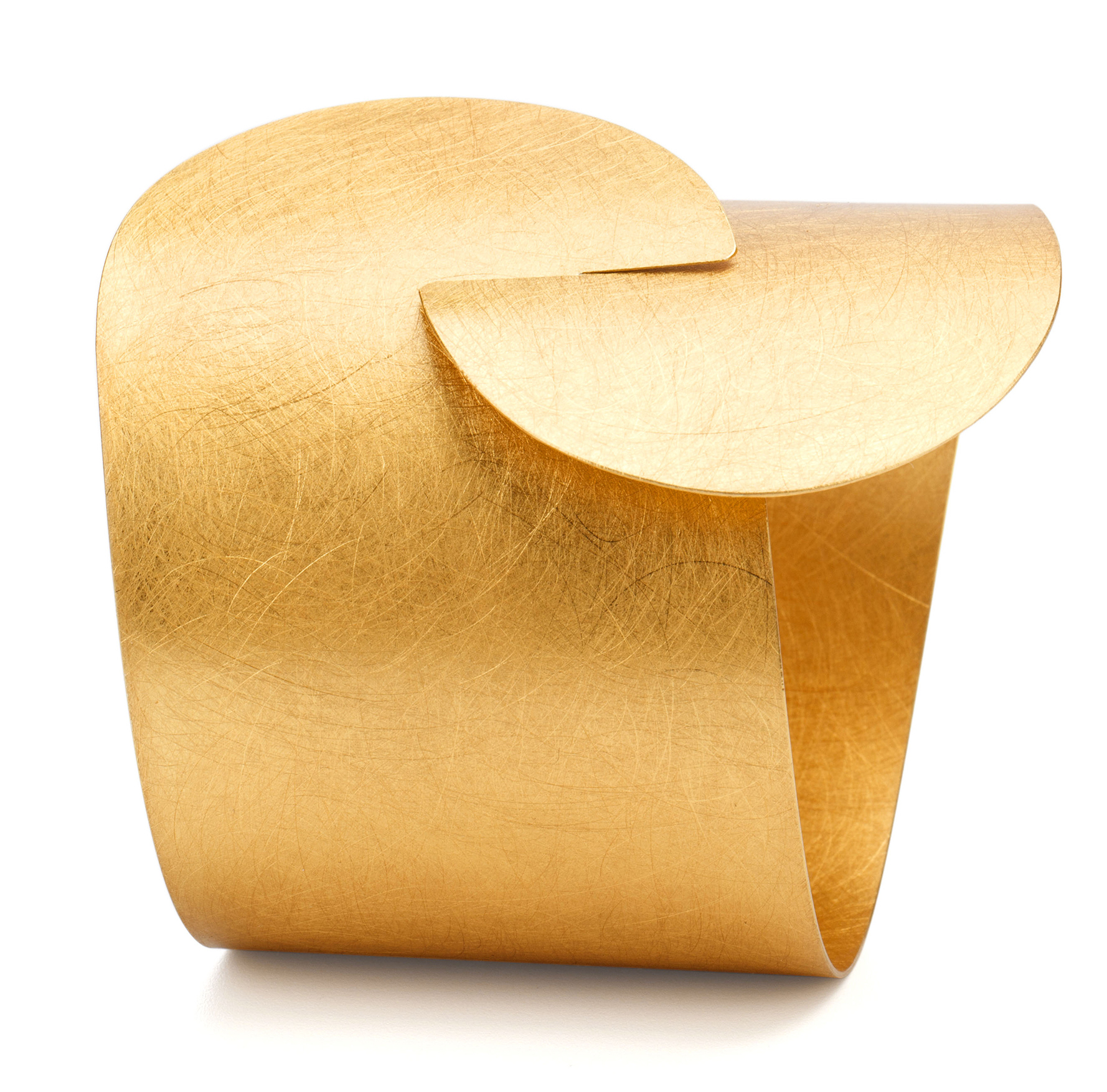 Marcin Zaremski gold-plated cuff bracelet | JCK On Your Market