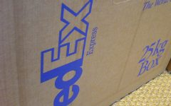 FedEx shipping box