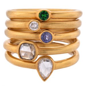 JS Noor stacking rings