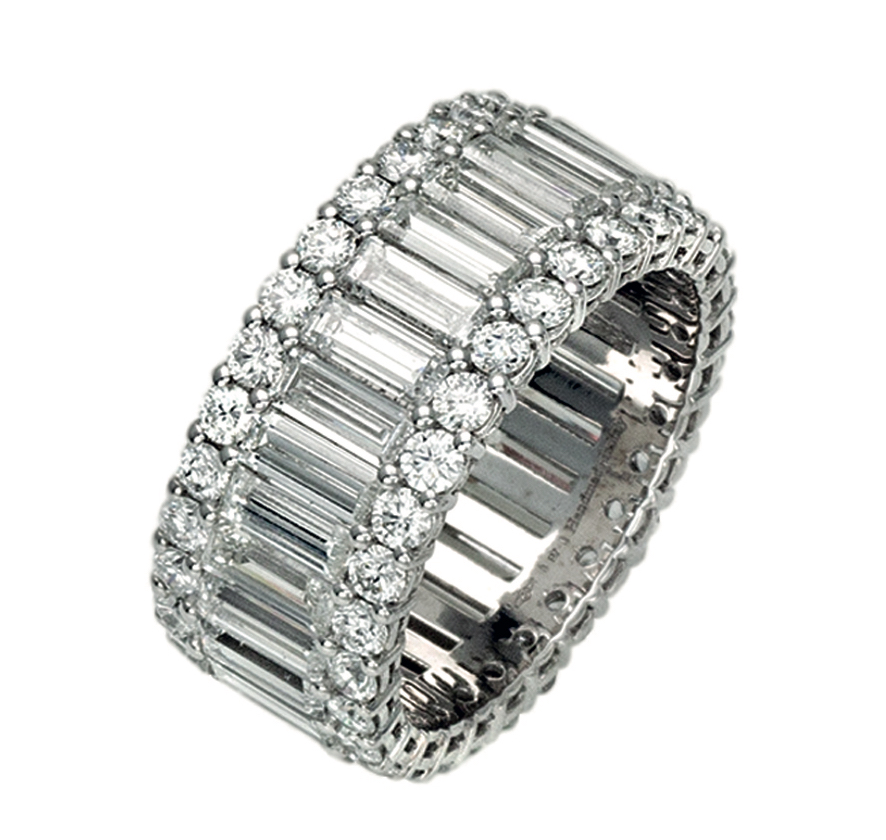 Lenti and Villasco diamond eternity band | JCK On Your Market
