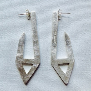 Balaam silver earrings