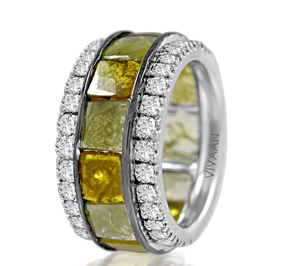 Vivaan natural diamond band | JCK On Your Market