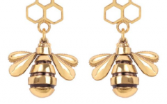 Be earrings from Coup in the form of bees