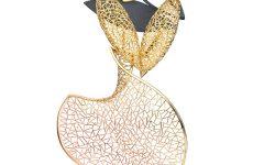 Baiyang Qui Cocoon brooch