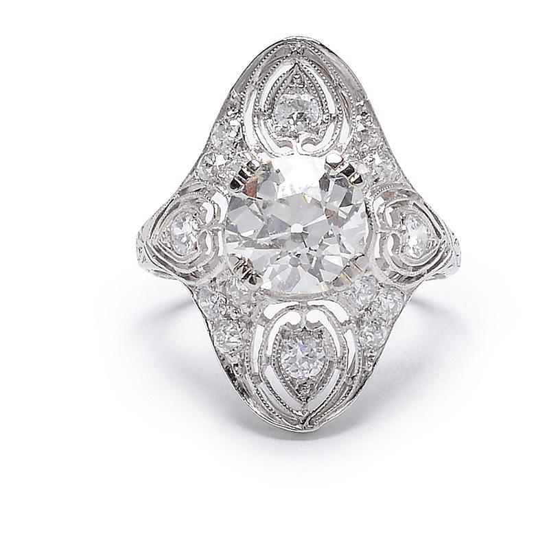 Circa 1925 engagement ring