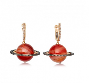 Astley Clarke Saturn earrings from Astronomy collection