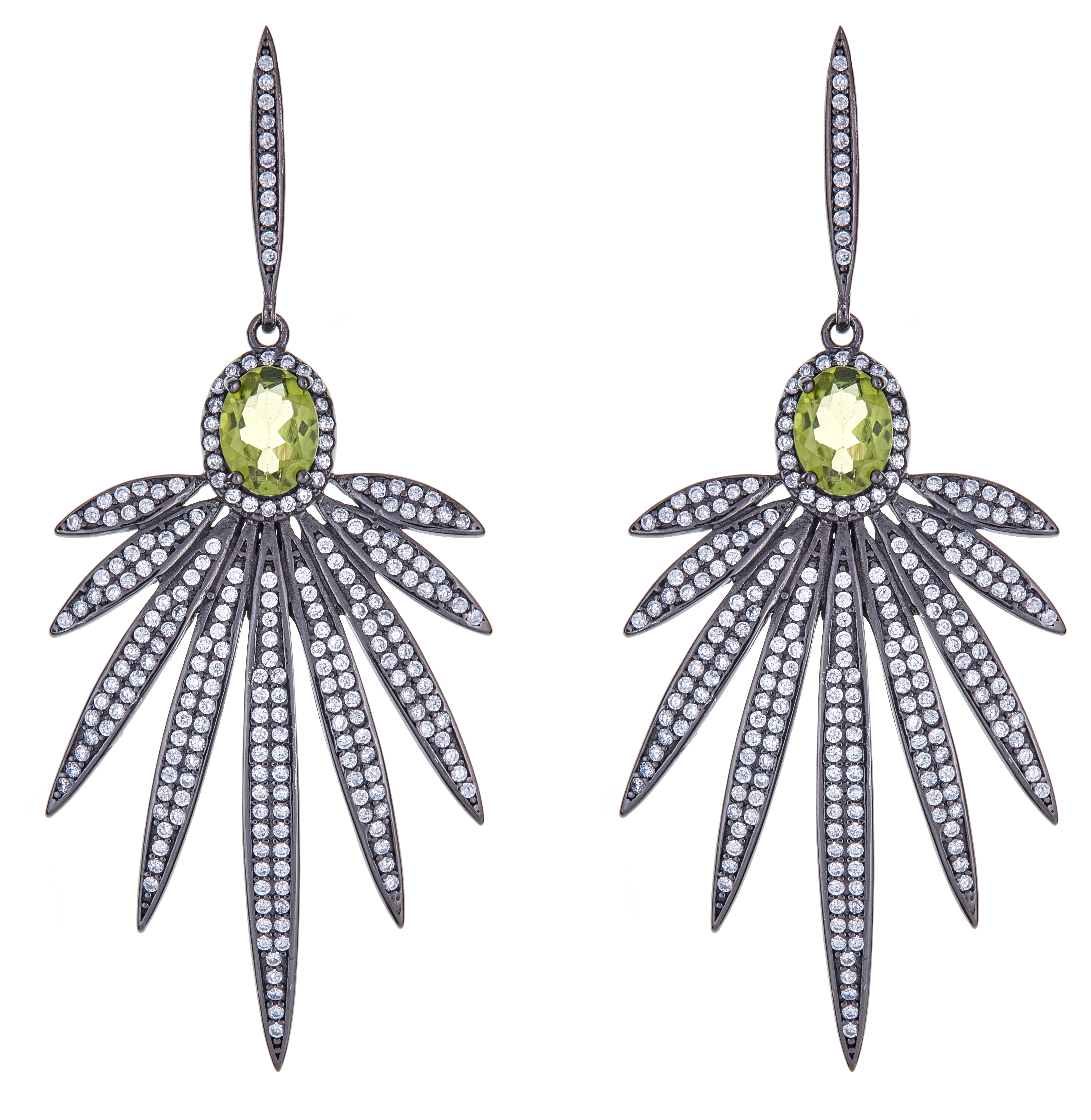 Cristina Sabatini peridot Apus Earring | JCK On Your Market