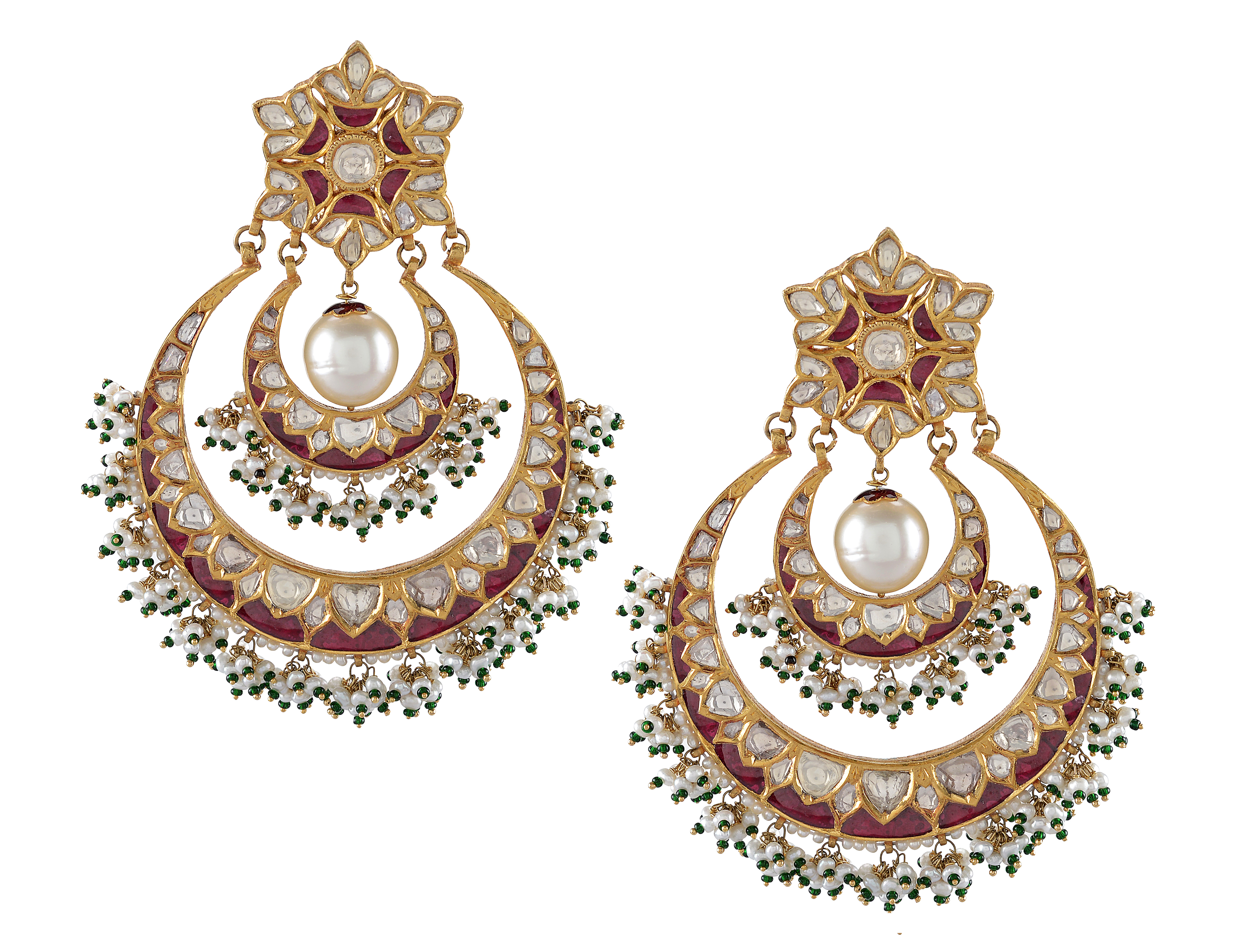 Amrapali Chandbali earrings | JCK On Your Market
