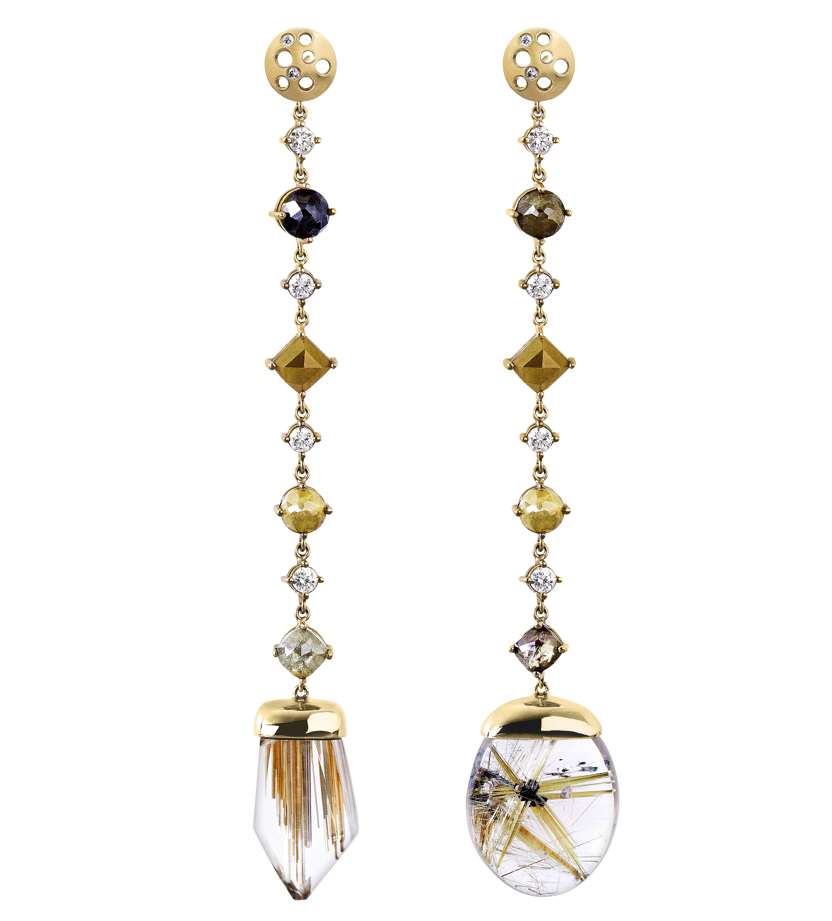Dana Bronfman mismatched earrings | JCK On Your Market