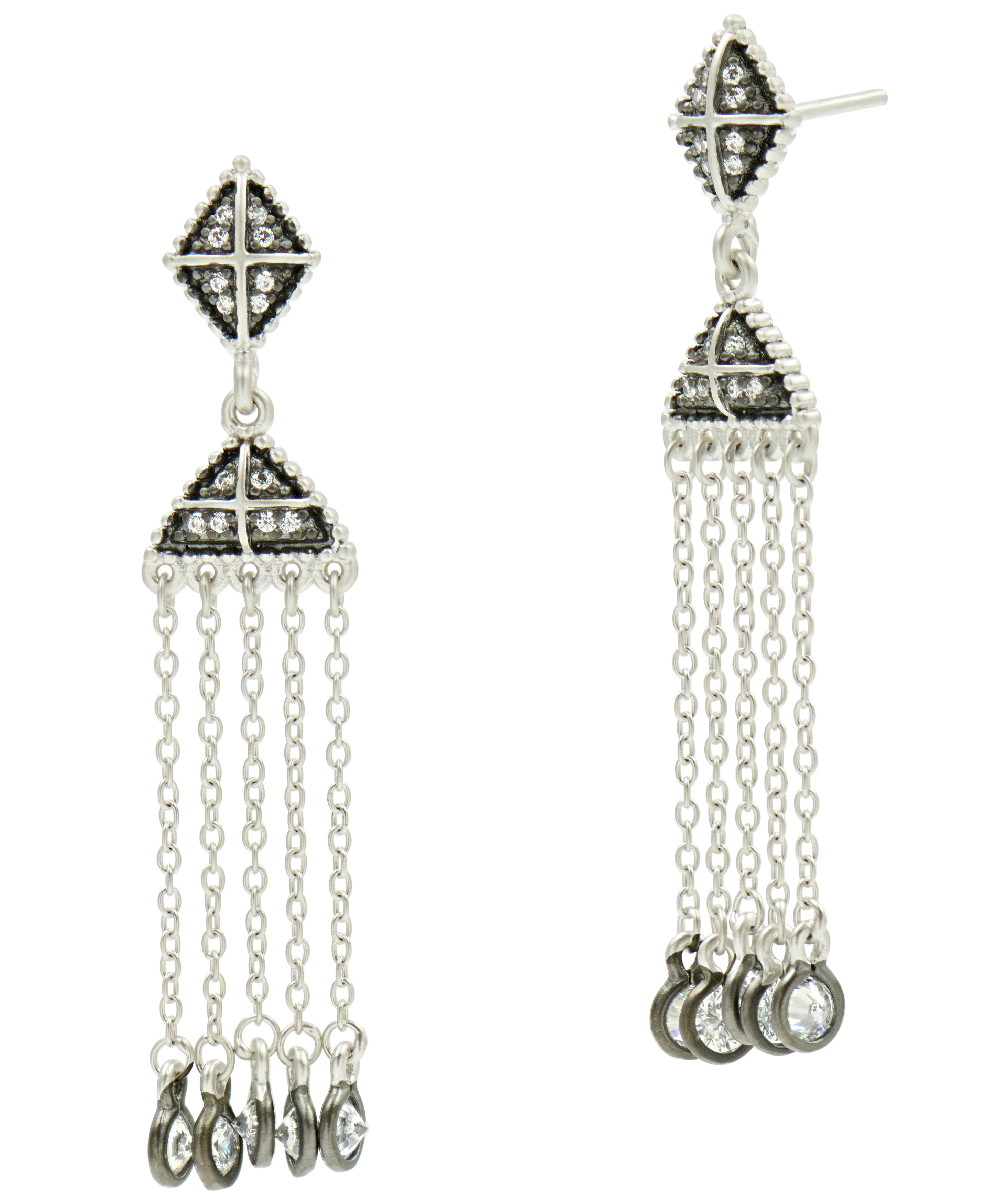 Freida Rothman chandelier drop earrings | JCK On Your Market