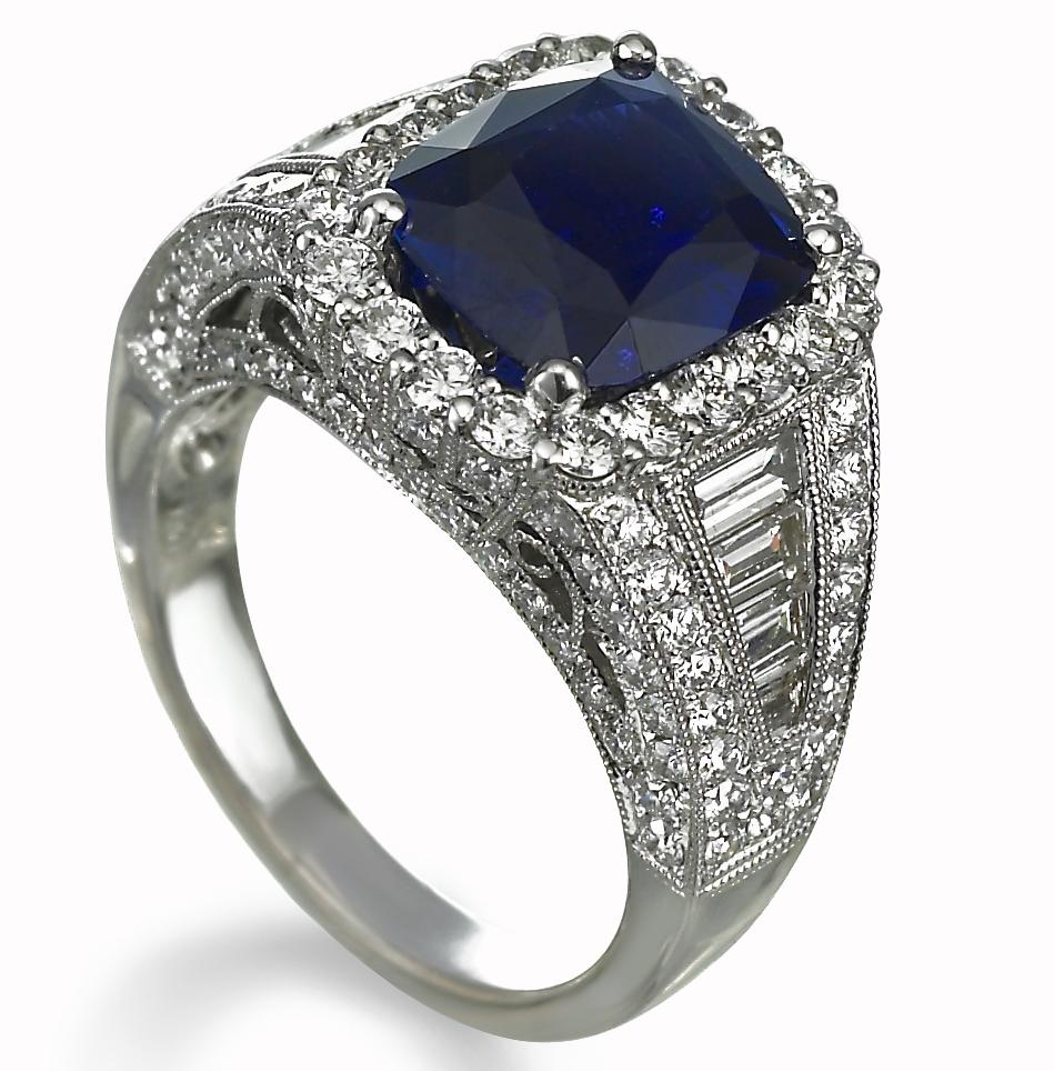 Jye Luxury sapphire ring