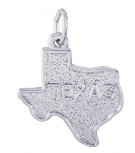 Texas map charm by Rembrandt Charms