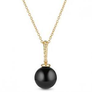 Solari Pendant with Black Onyx