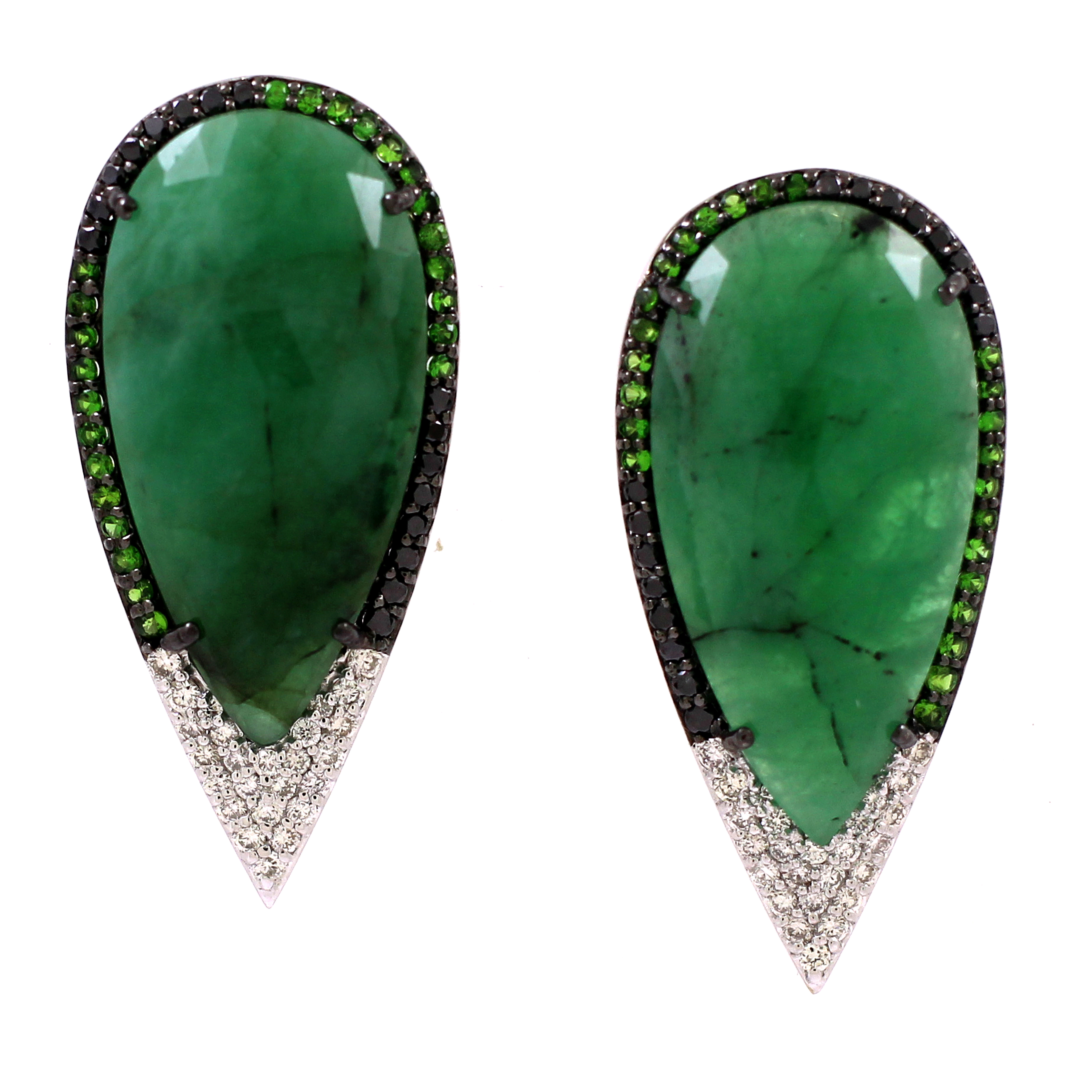 Vivaan emerald earrings | JCK On Your Market
