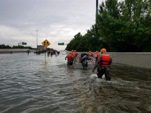 Harvey flood devastation