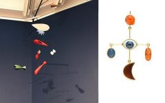 Calder mobile Grainne Morton earrings