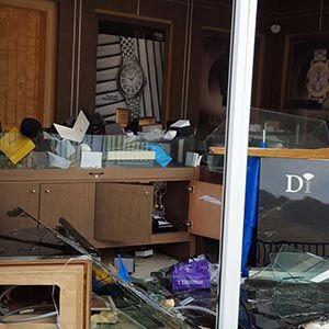 Diamonds International store devastated by Irma