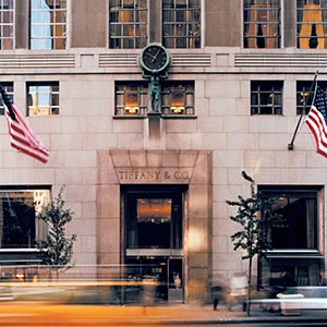 Tiffany and Co Fifth Avenue Store exterior
