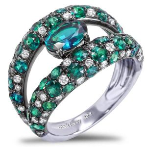 Mark Henry alexandrite ring