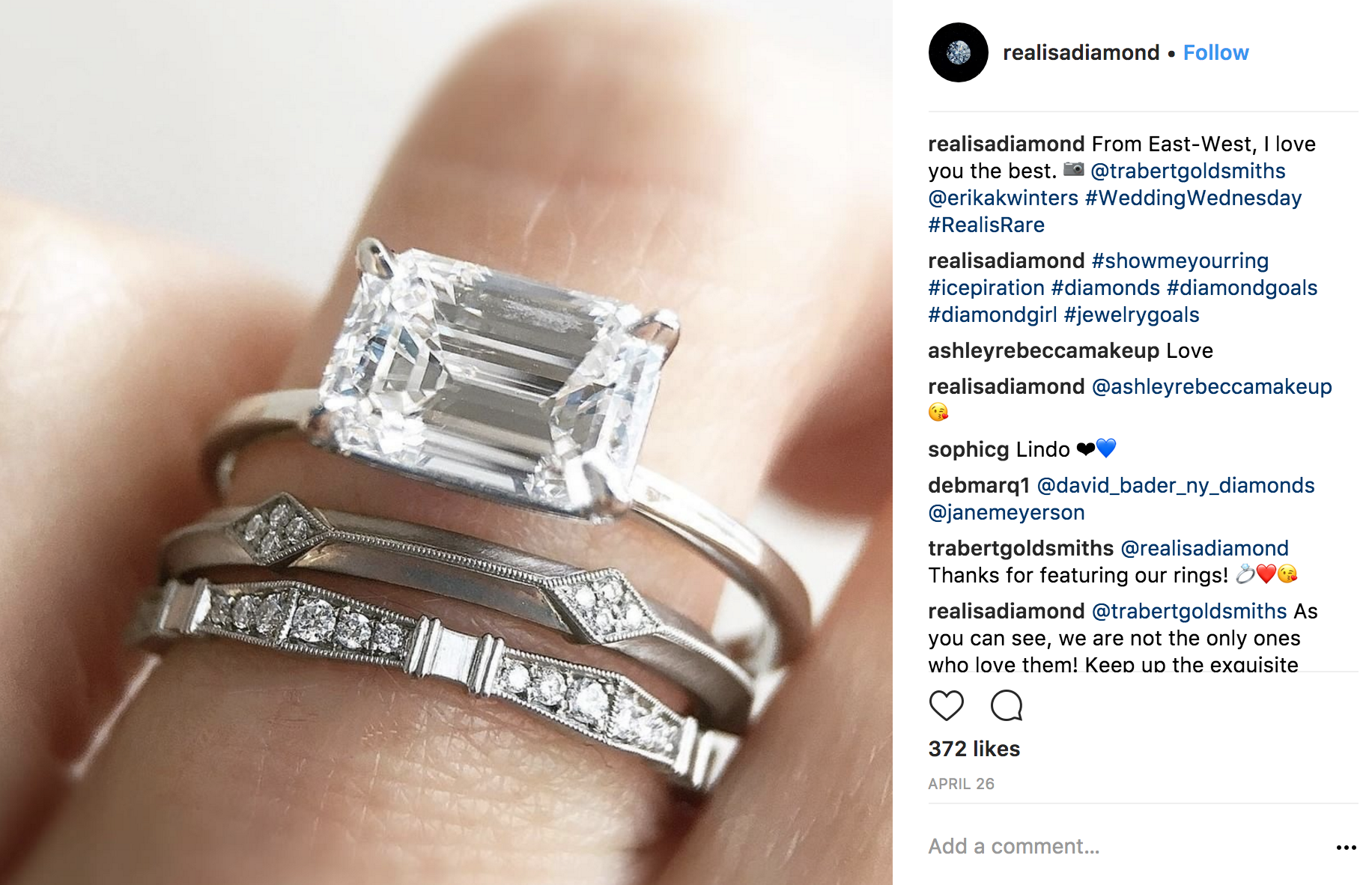 Realisadiamond Instagram photo