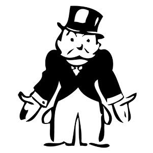 Uncle Pennybags illustration