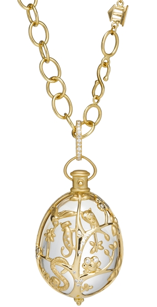Temple St. Clair Anima Earth amulet pendant