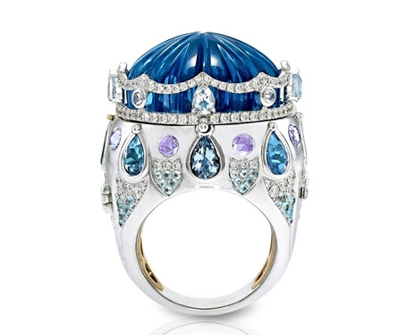 Italian Design Jewellery Circus collection ring