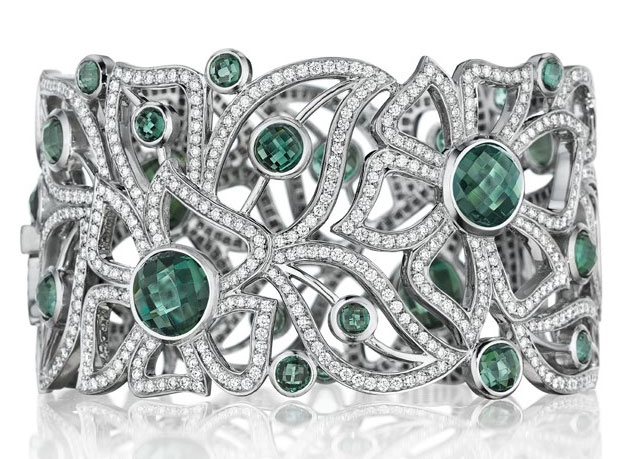 Carelle Limited Edition tourmaline Florette bracelet