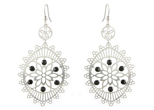 Athra earrings in silver