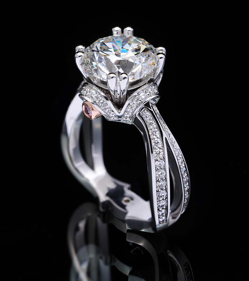 Coffin and Trout diamond ring