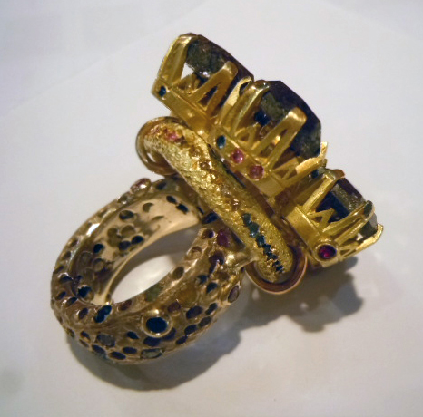 Boaz Kashi diamond and gold ring