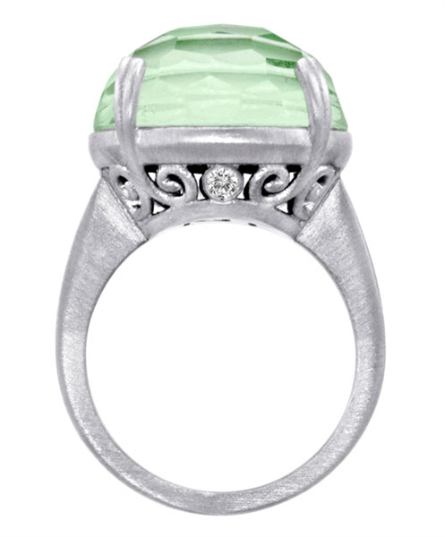 Lisa Nik Colors collection lime ring